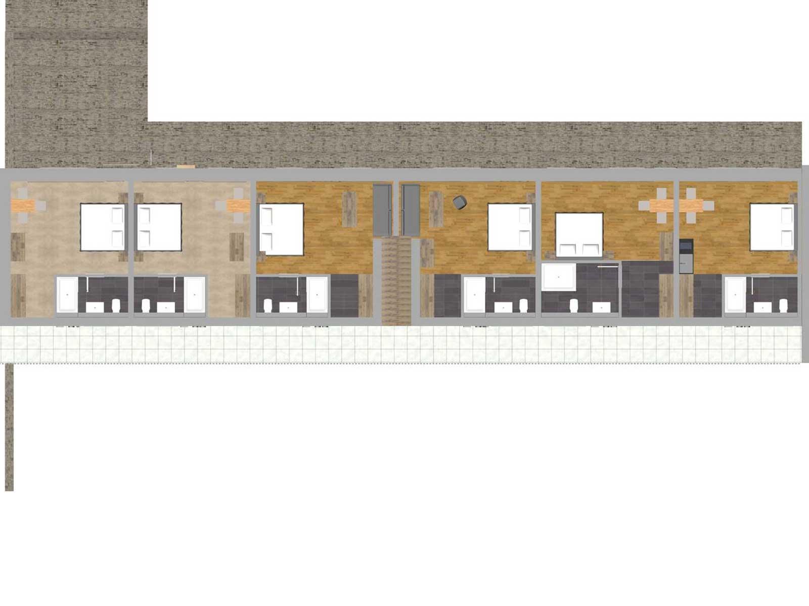 Gaetehaus Lausnitz Zimmerplan