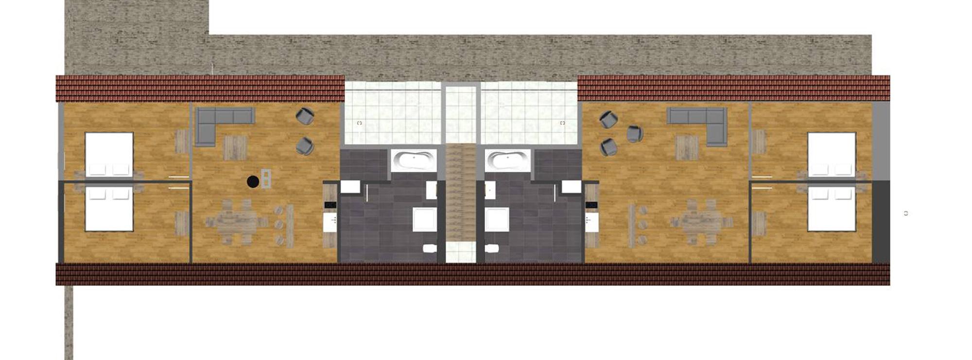 Gästehaus Lausnitz Dachgeschoss