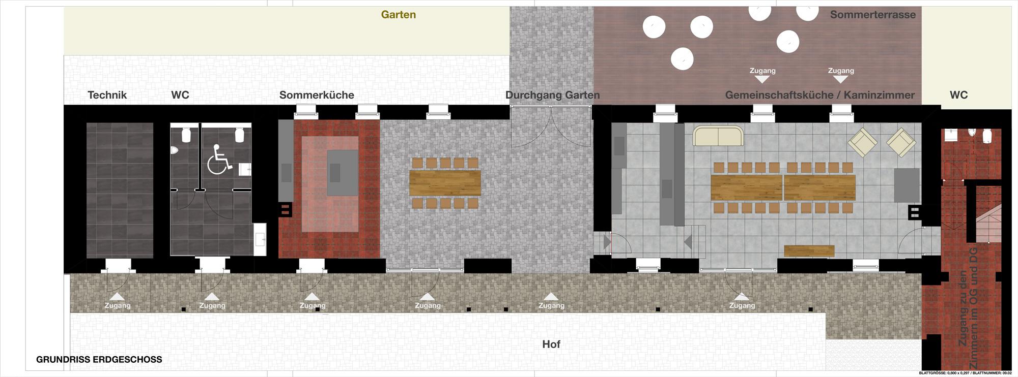 Gäastehaus Lausnitz Erdgeschoss