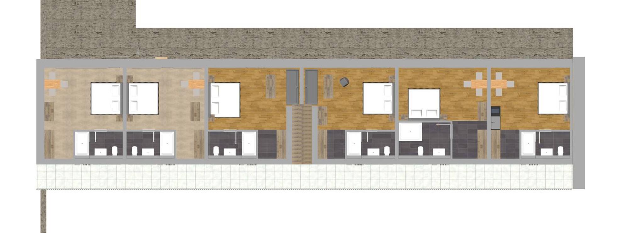 Gästehaus Lausnitz Zimmerplan